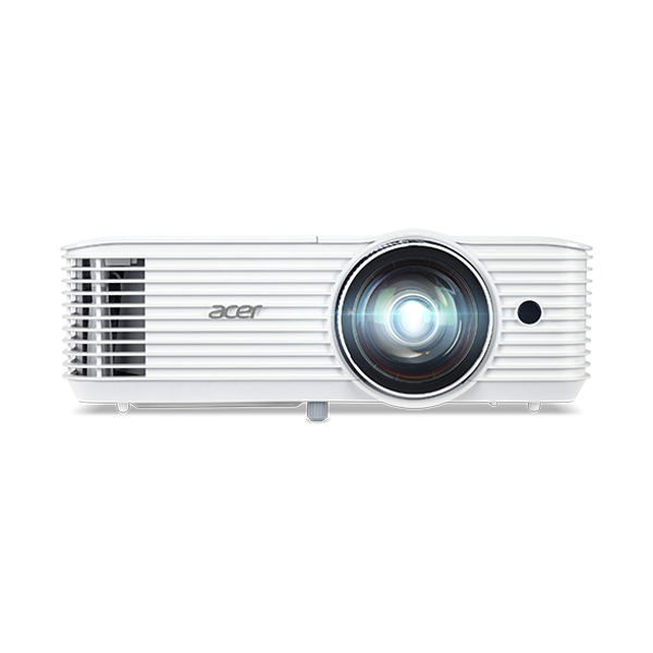 ACER DLP 3D Projektor S1386WH, WXGA, 3600lm, 20000/1, HDMI, short throw, fehér