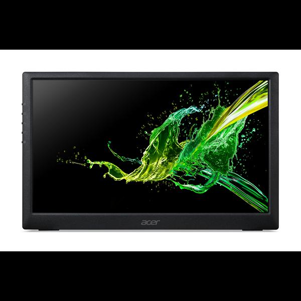 ACER IPS LED Hordozható Monitor PM161Qbu, 15,6