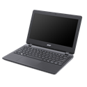 "ACER TravelMate TMB117-M-C79E 11.6"" HD, Intel Celeron Quad Core N3150, 4 GB, 500 GB HDD, No OS, Fekete"