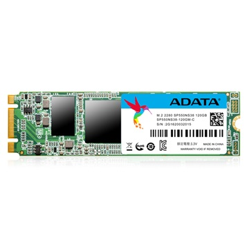 ADATA M.2 2280 SSD SATA III 120GB Solid State Disk, Premier SP550