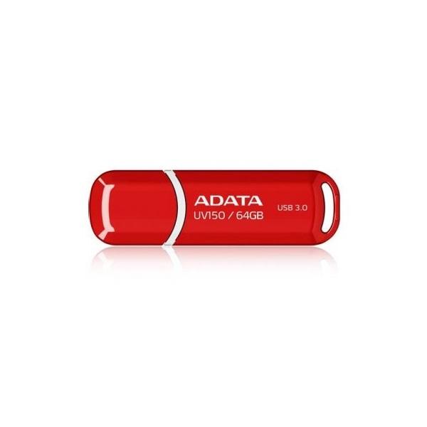 ADATA Pendrive 64GB, UV150 USB 3.0, Piros