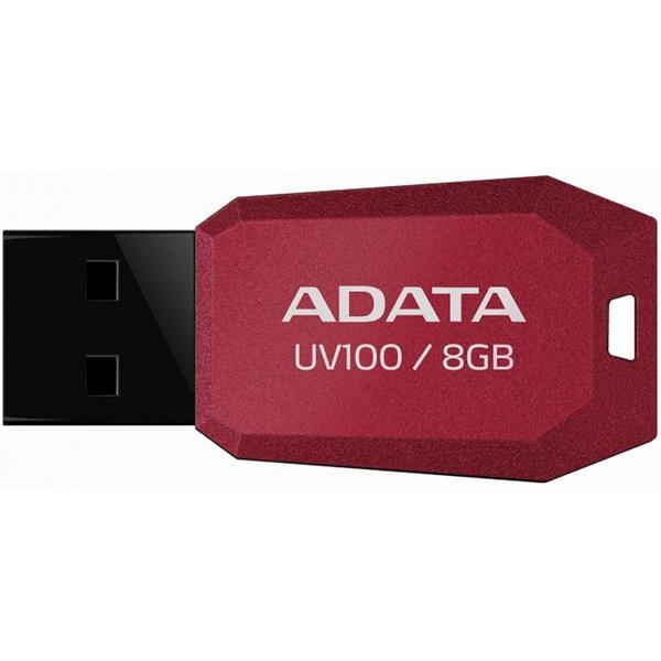 ADATA Pendrive 8GB, UV100, Piros