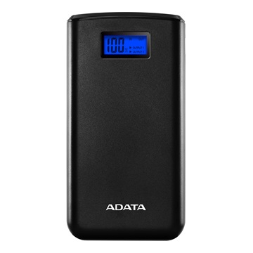 ADATA Power Bank 20000mAh AS20000 Fekete