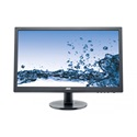 "AOC LED Monitor 24"", E2460SD2 1920x1080, 16:9, 250 cd/m2, 1ms, VGA/DVI, fekete"