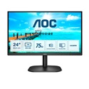 "AOC VA monitor 23,8"" 24B2XDM, 1920x1080, 16:9, 4ms, 250cd/m2, 75Hz, VGA/DVI"
