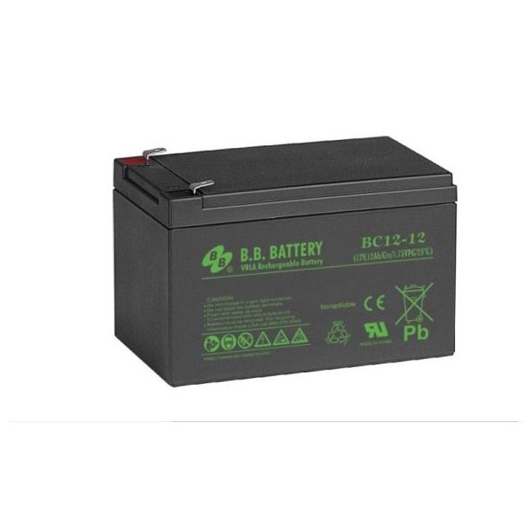 APC (BB) Akkumulátor 12V/12Ah zárt, gondozásmentes AGM [RBC4 (1), RBC6 (2)]