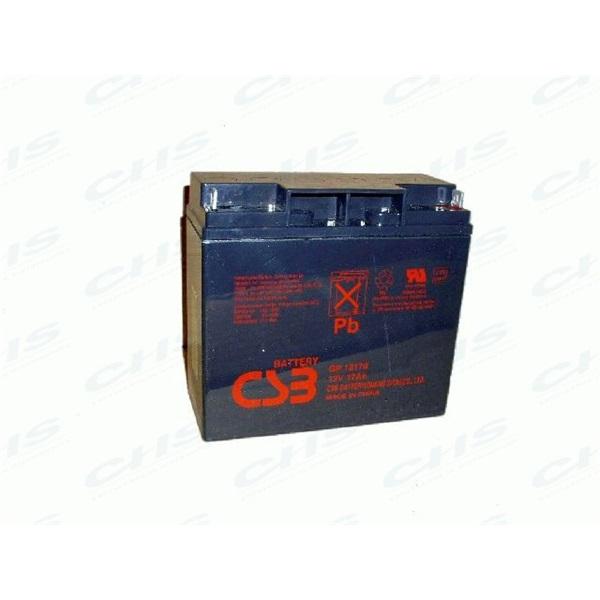APC (BB) Akkumulátor 12V/17Ah zárt, gondozásmentes AGM [RBC7 (2), RBC11 (4), RBC 55 (4)]
