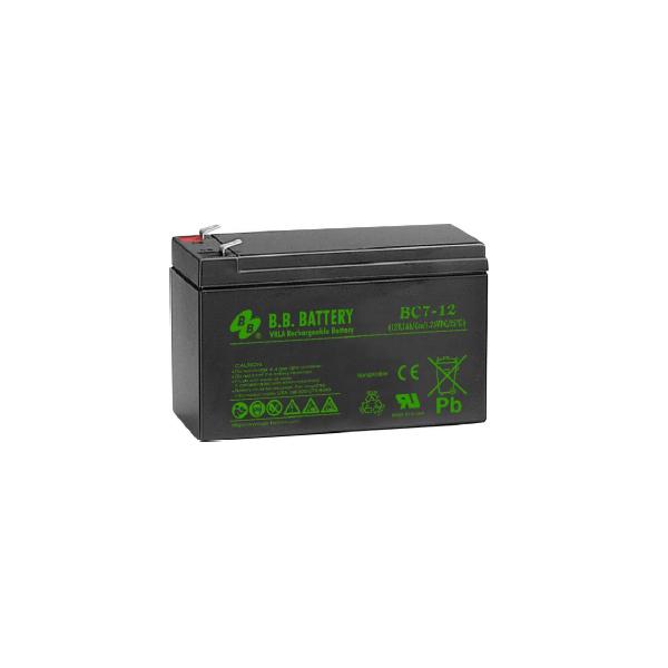 APC (BB) Akkumulátor 12V/7.0Ah zárt, gondozásmentes AGM [RBC2 (1), RBC 5 (2), RBC 6 (4), RBC 9 (2), RBC8 (4),  RBC17 (1)