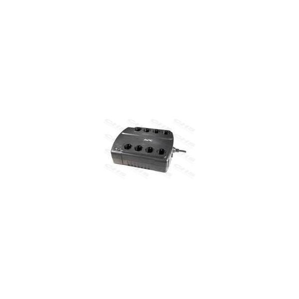 APC Back-UPS BE700G-GR (ES) (4+4 Schuko) 700VA (405 W) 230V Power-Saving, OFFLINE szünetmentes tápegység, torony - USB i