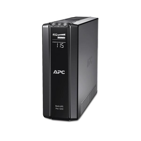 APC Back-UPS BR1200G-GR (3+3 Schuko) 1200VA (720 W) 230, LCD, LINE-INTERACTIVE szünetmentes tápegység, torony