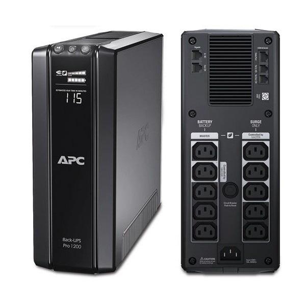 APC Back-UPS BR1200GI  1200VA (720 W) 230, LCD, LINE-INTERACTIVE szünetmentes tápegység, torony