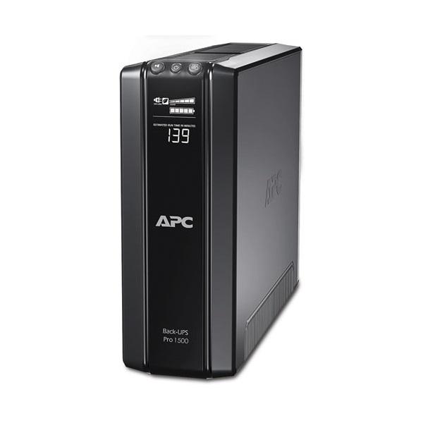 APC Back-UPS BR1500GI (RS) (5+5 C13) 1500VA (865 W) LCD 230V LINE-INTERACTIVE szünetmentes tápegység, torony - USB
