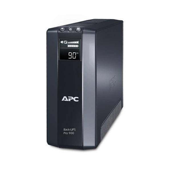 APC Back-UPS BR900GI (4+4 IEC13) 900VA (540 W) 230, LCD, LINE-INTERACTIVE szünetmentes tápegység, torony