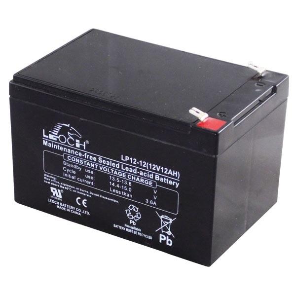 APC (LEOCH) Akkumulátor 12V/12Ah zárt, gondozásmentes AGM [RBC4 (1), RBC6 (2)]