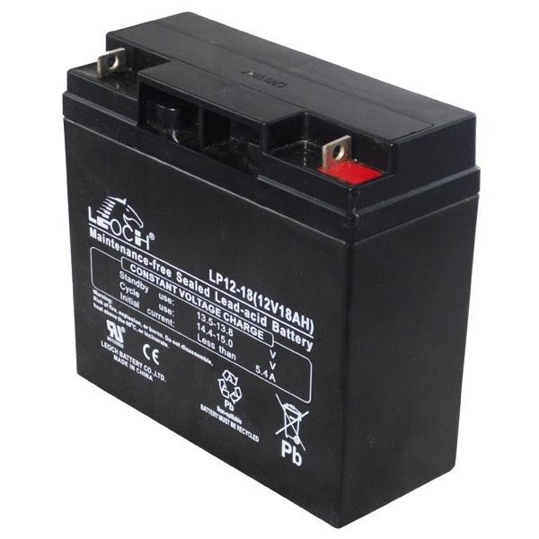 APC (LEOCH) Akkumulátor 12V/18Ah zárt, gondozásmentes AGM (LP12-18)