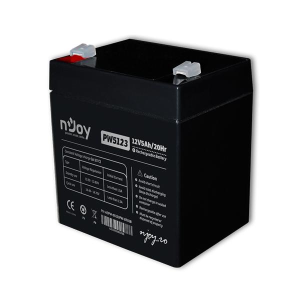 APC (NJOY) Akkumulátor 12V/5Ah zárt, gondozásmentes AGM T2
