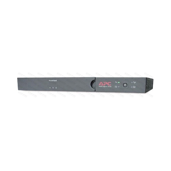 APC Smart-UPS SC450RMI1U (4 IEC13) 450VA (280 W) 230V Power-Saving LINE-INTERACTIVE szünetmentes tápegység, rack(1U)/tor