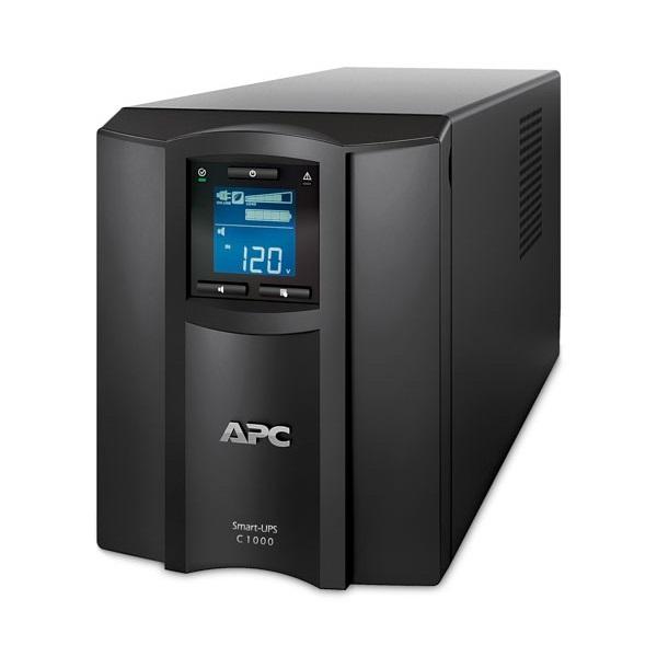 APC Smart-UPS SMC1000IC (8 IEC13) 1500VA (900 W) LCD 230V, LINE-INTERACTIVE Smart Connect szünetmentes tápegység,torony