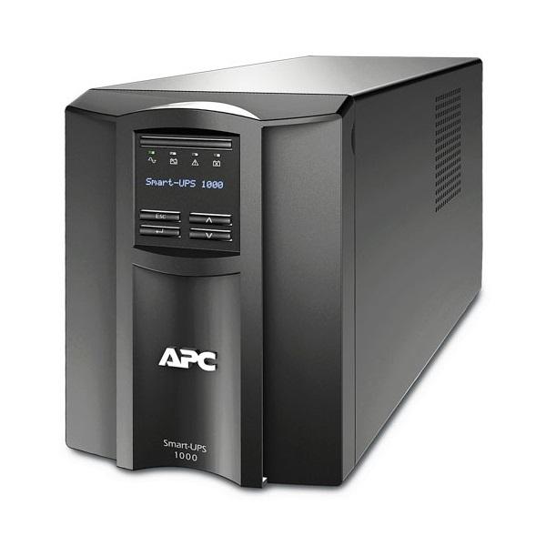 APC Smart-UPS SMT1000IC (8 IEC13) 1000VA (700 W) LCD 230V, LINE-INTERACTIVE Smart Connect szünetmentes tápegység,torony