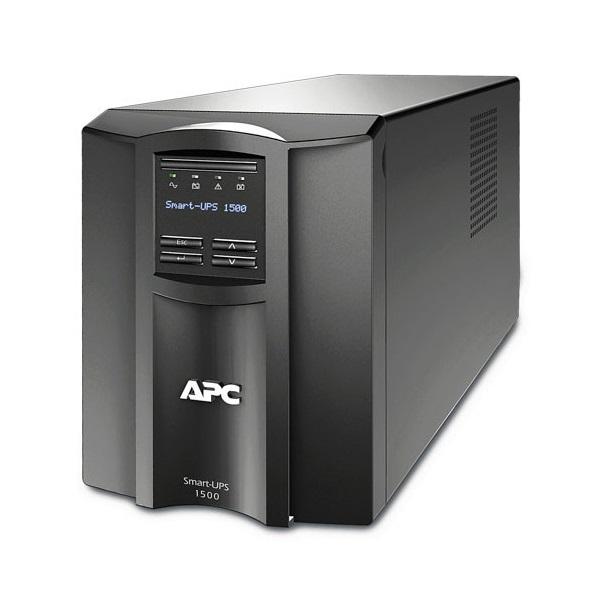 APC Smart-UPS SMT1500IC (8 IEC13) 1500VA (1000 W) LCD 230V, LINE-INTERACTIVE Smart Connect szünetmentes tápegység,torony