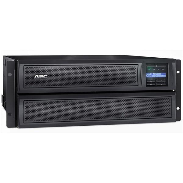APC Smart-UPS SMX2200HV (8 IEC13, 1 IEC19) 2200VA (1980 W) LCD 230V, LINE-INTERACTIVE szünetmentes tápegység, rack(4U)/t