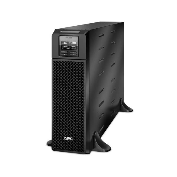 APC Smart-UPS SRT5KXLI (6 IEC13, 4 IEC19) 5000VA (4500 W) LCD 230V, ONLINE szünetmentes tápegység, rack/torony, bővíthet