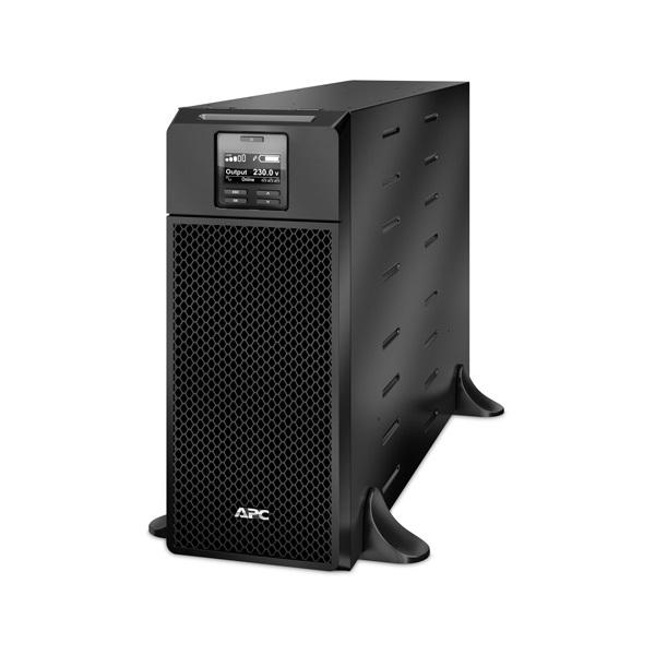 APC Smart-UPS SRT6KXLI (6 IEC13, 4 IEC19, 1 Fix) 6000VA (6000 W) LCD 230V, ONLINE szünetmentes tápegység, rack/torony, b