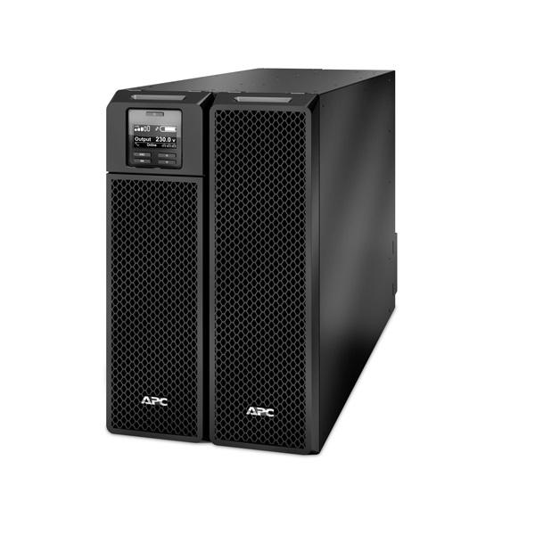 APC Smart-UPS SRT8KXLI (6 IEC13, 4 IEC19, 1 Fix) 8000VA (8000 W) LCD 230V, ONLINE szünetmentes tápegység, rack/torony, b