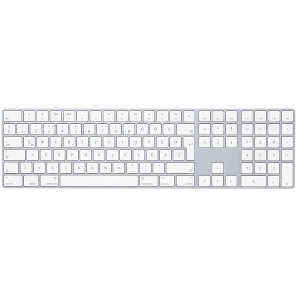 APPLE Magic Keyboard with Numeric Keypad - HU, vezeték nélküli billentyűzet számbillentyűzettel - magyar