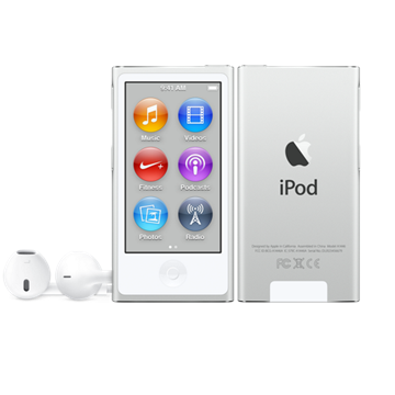 APPLE iPod nano 16gb white & silver