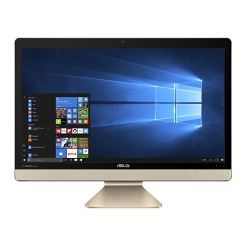 "ASUS AIO V221ICUK-BA027T, 22"" FHD, Intel Core i5-7200U (2,5GHz), 8GB, 1TB HDD, No ODD, Win10, Fekete"