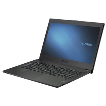 "ASUSPRO ESSENTIAL P452LA-WO0058G, 14"" HD LED, Intel Core i5-5200U, 4GB, 500GB HDD, ODD, Windows 8.1 Pro, Fekete"