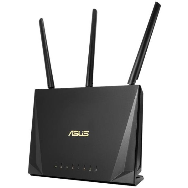 ASUS Wireless Router AC1750 RT-AC65P 1x WAN (1000Mbps) + 4x LAN (1000Mbps) + USB 3.1