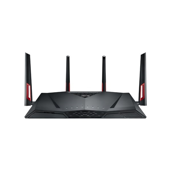 ASUS Wireless Router AC3100 RT-AC88U 1x WAN (1000Mbps) + 8x LAN (1000Mbps)