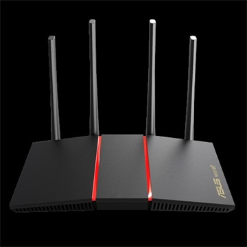 ASUS Wireless Router Dual Band AX1800 1xWAN(1000Mbps) + 4xLAN(1000Mbps), RT-AX55