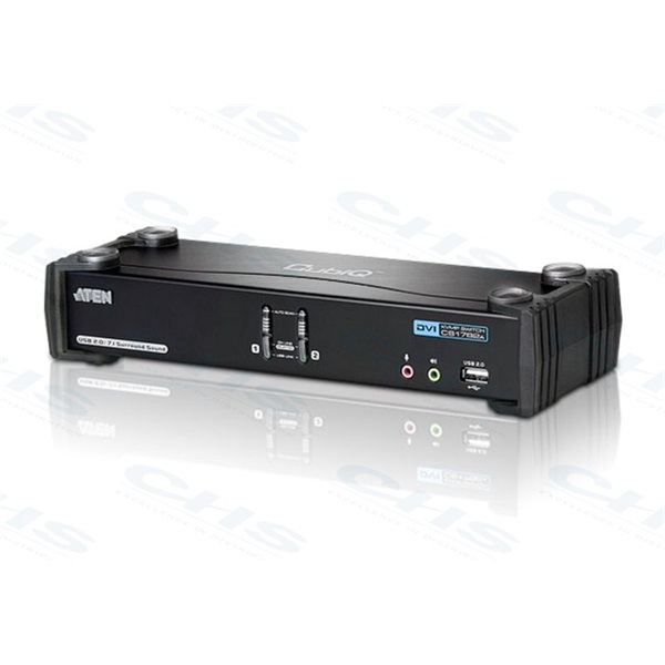 ATEN KVM Switch 2PC USB DVI + kábel CS-1782A