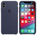 Apple iPhone XS Max Silicone Case - Midnight Blue