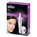 BRAUN Face 810 2-in-1 facial epilating & cleansing system with 2 extras