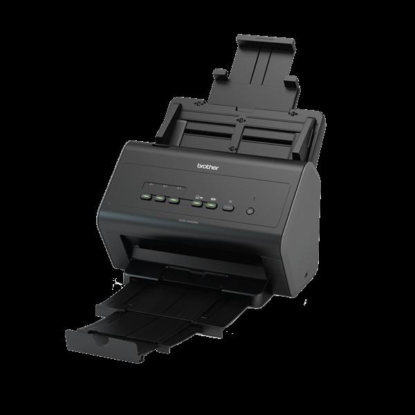 BROTHER Asztali szkenner ADS-2400N, A4, 30 oldal/perc, LAN/USB, ADF, duplex, 1200x1200dpi, 256MB