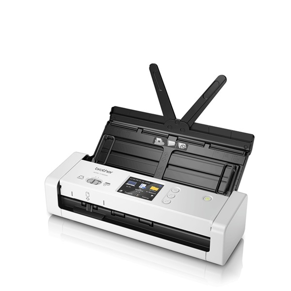 BROTHER Kompakt szkenner ADS-1700W, A4, 25 lap/perc, Wifi/LAN/USB, ADF, Duplex, 1200x1200 dpi