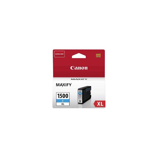 CANON Patron 1500XL, Kék, MAXIFY MB2050/MB2150/MB2350/MB2750/MB2755, 12ml, 1020 oldal