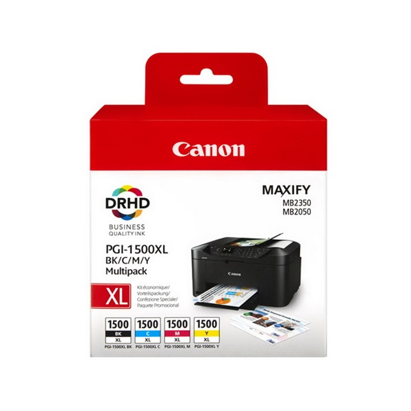 CANON Patron 1500XL, Multipack, MAXIFY MB2050/MB2350