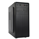 CHS PC Barracuda, Core i3-8100 3.6GHz, 4GB, 120GB SSD, DVD-RW, Egér+Bill