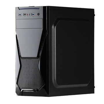 CHS PC Barracuda, Core i5-9400F 2.9GHz, 8GB, 240GB SSD, DVD-RW, Egér+Bill, nVidia GT