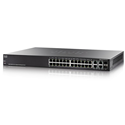 CISCO Switch 24x1000Mbps+ 2SFP PoE L3 SG300-28MP-K9-EU