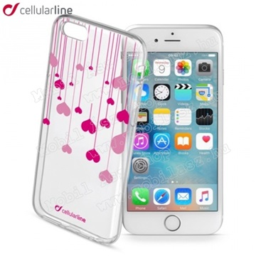 Cellularline Gumi tok Heart Iphone 6 4,7