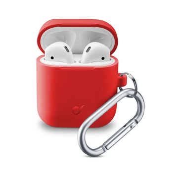 Cellularline Tok, Bounce - AirPods 1&2 Red