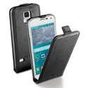 Cellularline Tok, FLAP ESSENTIAL, mobiltelefonhoz, flipes, Samsung Galaxy S5 Mini G800, fekete