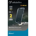 Cellularline Tok, TETRA  Iphone 7 4,7, fekete