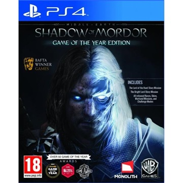 Cenega PS4 MIDDLE-EARTH: SHADOW OF MORDOR GAME OF THE YEAR EDITION